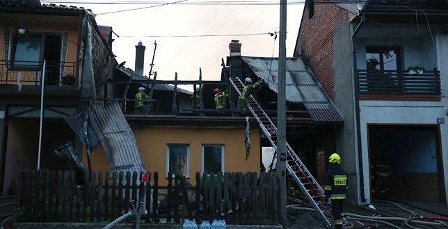 Domy płonęły jak zapałki.